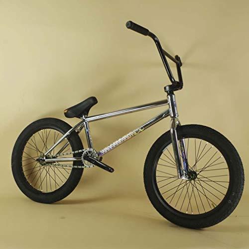 LJLYL Vélo BMX Pro pour Adolescents et Adultes, Roues de 20 Pouces, Niveau débutant à avancé, Cadre en Acier 4130 CR-Mo, engrenage BMX 25 × 9T