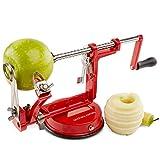 Andrew James Eplucheur Pomme 3 en 1 Péle Pomme avec Support Ventouse Pour Tout les...