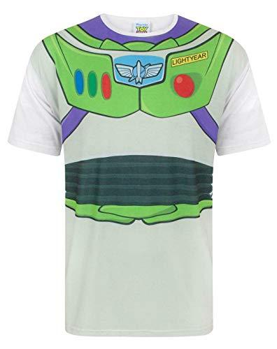 Disney Toy Story Buzz Lightyear Costume Men's T-Shirt (L)