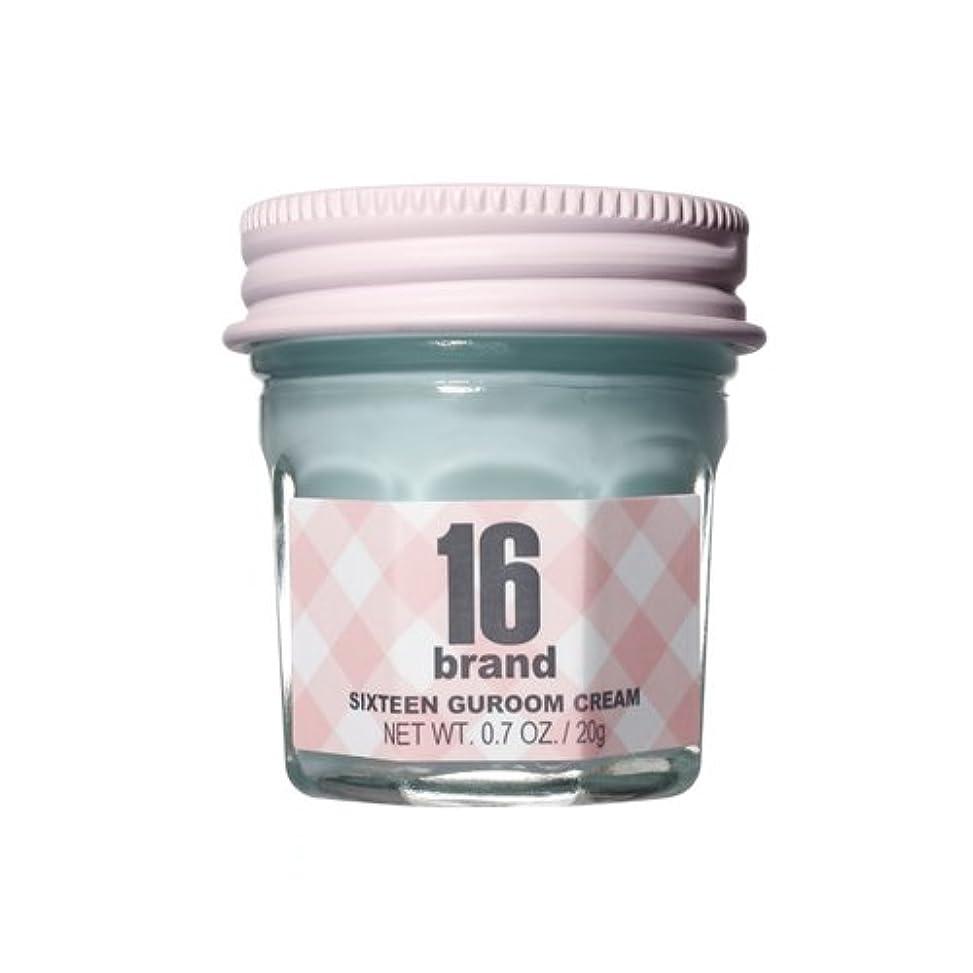 損なうコークス借りる16brand Sixteen Guroom Cream * Mint Cream * 20g/16ブランド シックスティーン クルム クリーム * ミント クリーム * 20g [並行輸入品]