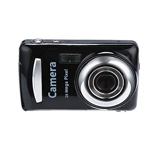 HUIHUI Digitalkamera 2.4HD Anti-Shake Digitalzoom Kamera 16.0 Mega Pixel (Schwarz, One Size)
