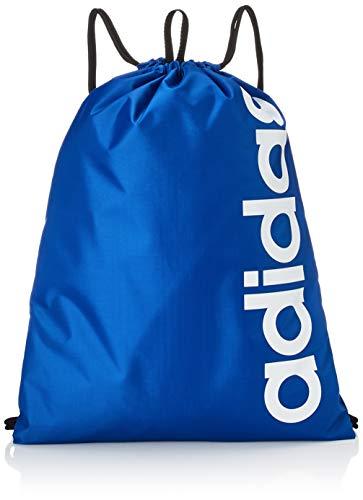 0AFIT|#Adidas Lin Core GB, Sacca Sportiva Unisex – Adulto, Team Royal Blue/Team Royal Blue/White, NS