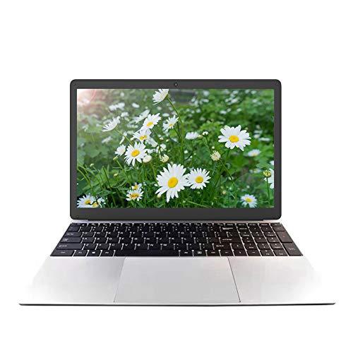 15,6 Zoll Laptop Notebook Computer PC, Windows 10 Pro Betriebssystem, Intel J3455 Quad Core CPU, Leichtes Design, 8 GB RAM 128 GB SSD, 1920 x 1080 Matt Display, WLAN, Webcam, HDMI