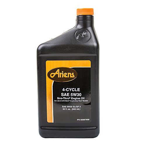 Ariens 00091000 4 Cycle SAE 5W30 Sno Thro Oil 16oz by Ariens