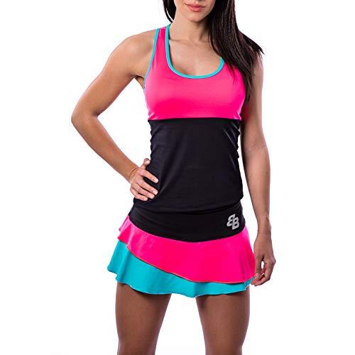BB Camiseta Conjunto Barcelona, Ropa Pádel y Tenis Mujer (M)