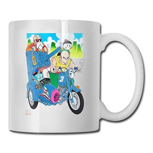 Dragon Ball Z Master Roshi, Piccolo Driving A Chariot Tazas de cerámica Código 330ml