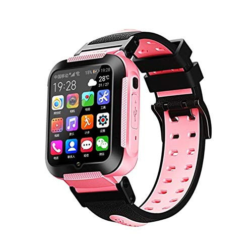 4G Kids Tracker Smart Watch GPS Impermeabile 1.54 Touch Screen Fotocamera Chiamata SOS Orologio per Bambini per Studente Ragazzo Ragazza Orologi Orologio,A