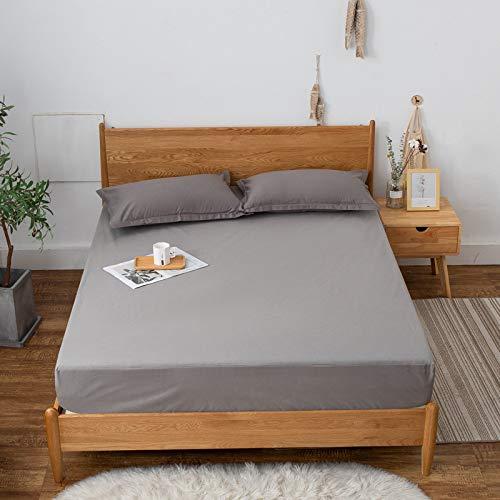 huyiming Verwendet für wasserdichte bettdecke Einteilige einfarbige schutzhülle bettdecke rutschfeste matratze Abdeckung staubschutz 1,8 mt 180 cm x 220 cm + 28 cm