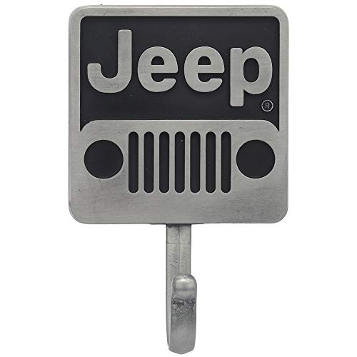 Open Road Brands Jeep Grille Metal Wall Hook