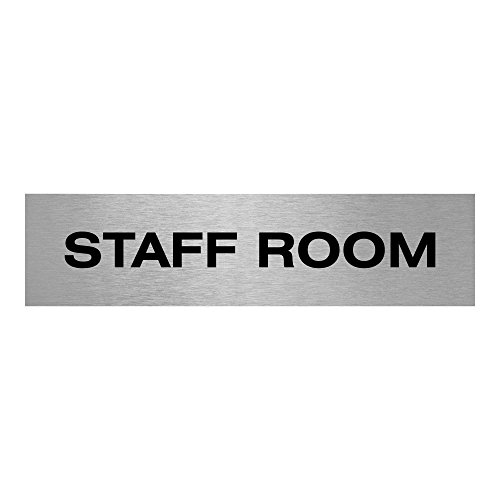 Aluminium Staff Room Sign | 200 ...