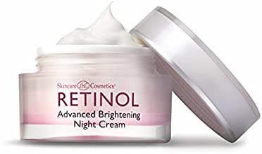 Retinol Advanced Brightening Night Cream– The Original Retinol Overnight Creamy Formula to Brighten, Clarify & Restore Youthful Radiance – Anti-Aging Benefits for Smoother, Softer, Evener Skin Tone