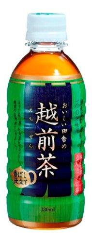 盛田 ハイピース おいしい田舎の越前茶 ペット 330ml×24本