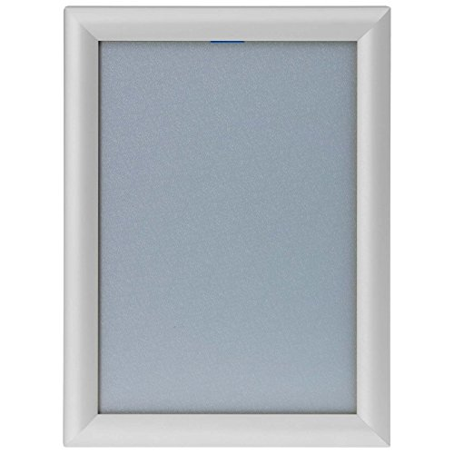KDS A1 Klapprahmen auf Gehrung Silber Posterrahmen Plakatrahmen Snap Frame