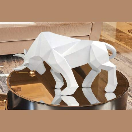 JIAXIN Esculturas Decorativas Estatua De Toro Resina Tauromaquia Escultura Decoración Nórdica Decoración...