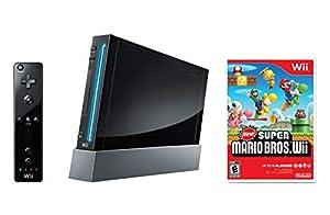 Wii Renewed Black by Nintendo