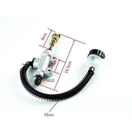 ZXLLNEUR Hydraulische motor Achterste voet Hoofdremcilinder pomp Reparatie H o p d a ATC-250R1982 200x fiets (Color : Silver)