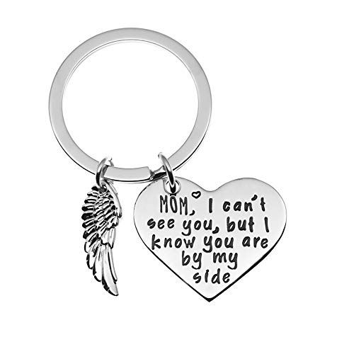 Ms. Clover Personalised Memorial Charm, Memorial Rememberance Keychain (mom)