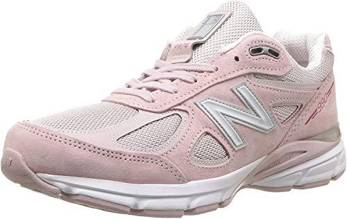 New Balance Women's 990v4 Sneaker, Faded Rose/Komen Pink, 3 UK