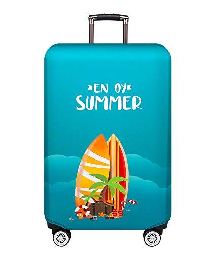 Trolley-Koffer für Reisegepäckabdeckung für 18-32-Inche-Gepäck(Surfen im Sommer, S)