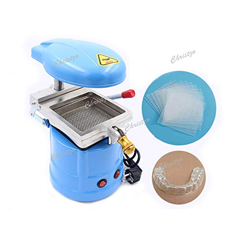 Christzo Dental Lamination Machine Dental Vacuum Forming Machine Dental Equipment Orthodontic Retainer for Dentist Lab