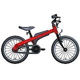 Axdwfd Vélos Enfants Vélos for garçons et Filles, Roues d'entraînement, Bicyclette en Alliage d'aluminium d'aviation de 16 Pouces, vélos for Enfants de 5 à 8 Ans (Color : Red)
