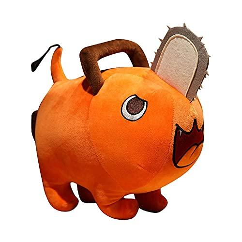 Mimitool Animal de Peluche, plushie Almohada rellena, Motosierra Hombre Anime Peluche Juguete, Lindo Perro Monstruo Monstruo, muñeca de Peluche Almohada rellena (Color : 9.84inch)