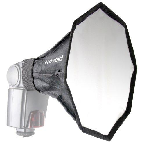 Polaroid Universal Studio Octagon Soft Box Flash Diffuser (7' x 7' Screen) For The Canon Speedlite 580EX, 580EX II, 430EX, 430EX II, 270EX, 320EX, 600EX-RT Flashes