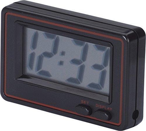 hr-imotion Quarzuhr mit Datumsanzeige [Kompakt , Selbstklebend , Ständer , inkl. Batterie] - 10310801