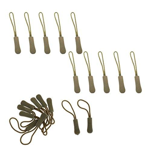 Sharplace 20pcs Corde de Fermeture à Glissière Cordon de Tirette Remplacement Accessoire
