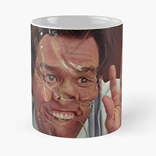OriginalFavorites Tape Office Carey Man Carrey Jim Movie Yes Best 11 Ounce Ceramic Coffee Mug Gift