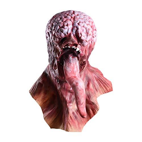 Máscaras del Diablo enmascaran Fiesta de Silicona Horror Zombie Terror Máscara de la Vida como vívido auténtico Fiesta de látex de Silicona Negro Fiesta Bar Mascarada...