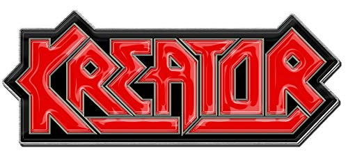 Kreator METALL PIN # 1 LOGO ANSTECKER BADGE BUTTON