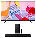 Samsung QN82Q60TA 82' Ultra High Definition 4K Quantum HDR Smart TV with a Samsung HW-A650 3.1CH Soundbar and Subwoofer with DTS Virtual X (2020)