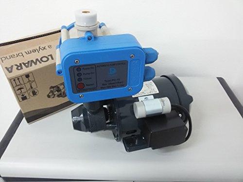 ELETTROPOMPA LOWARA PM16 MOTORE ACQUA PERIFERICA + PRESSCONTROL