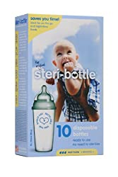 Steribottle Disposable Baby Bottles