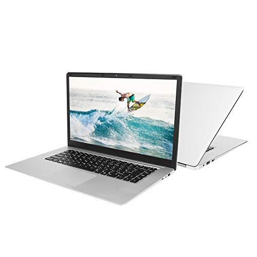 15.6'' Ultra-thin Portable Business Laptop, LED High-Definition Screen, Intel Atom X5-z8350 1.44GHZ Quad-core, 4GB RAM 64GB eMMC, Windows 10 Office Notebook Computer(UK-plug)