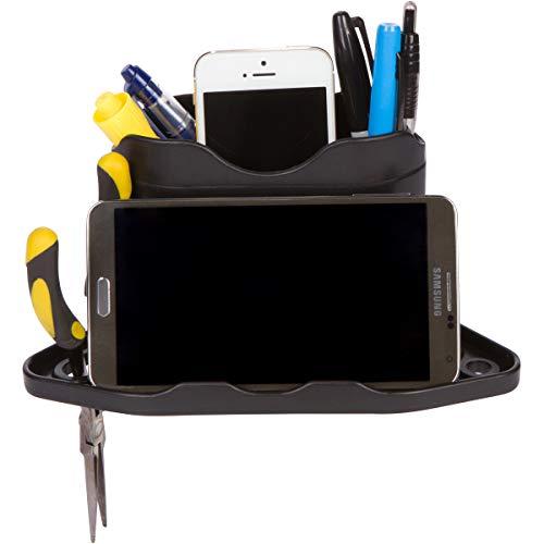 ROBOCUP Funda, (Negro), accesorio complementario, mini caja frontal, almacenamiento de herramientas, llaves, bolígrafos, carteras. (incluye 1)