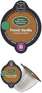 Keurig 2.0 Green Mountain Coffee French Vanilla Light Roast Coffee K-Carafe 28 Count