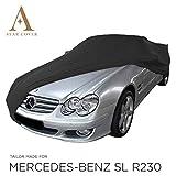 COPRIAUTO da Inferno Compatibile con Mercedes-Benz SL-Class (R230) | Nero GARAGECOVER | vestibilità Perfetta E Cover su Misura | Consegna Rapida