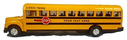 Conventional Hood School Bus Custom Lettered