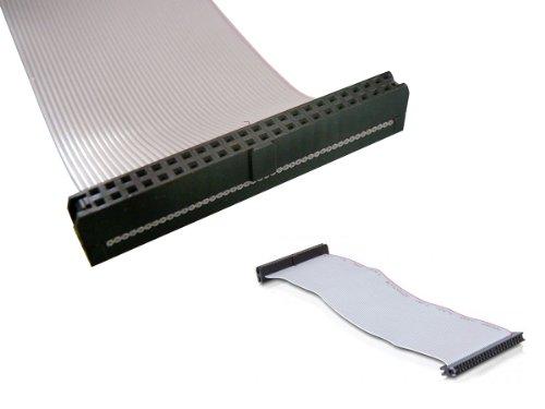 Kalea-Informatique Ribbon Cable IDE 44 Pins, für Anschlüsse IDE 2,5 weiblich weiblich, 20 cm