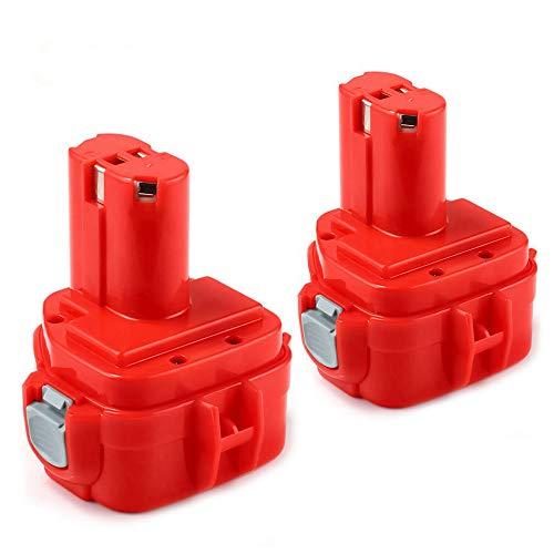 2X12V 3.6Ah para Makita Batería PA12 1220 1222 1233 1200 1234 1235 1235B 1235F 1235A