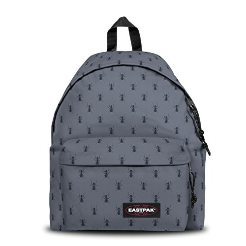 Eastpak PADDED PAK'R Zainetto per bambini, 40 cm, 24 liters, Grigio (Bugged Grey)