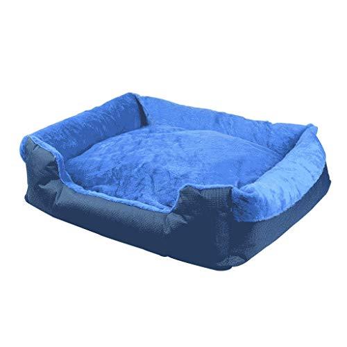 WYL Piccolo e Medio canile Rimovibile e Lavabile in Velluto di Cotone Pet Nest Litter Dog Supplies Than Bear Teddy Materasso (Size : L)