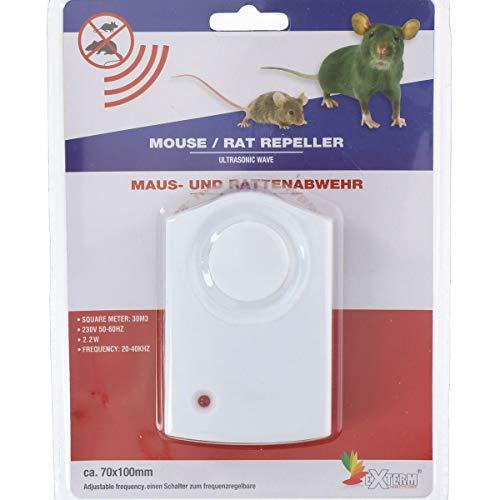 Pest Repellente - Scaccia Animali- Dissuasore ad Utrasuoni Per Artropidi, Roditori, Topi e Pipistrelli