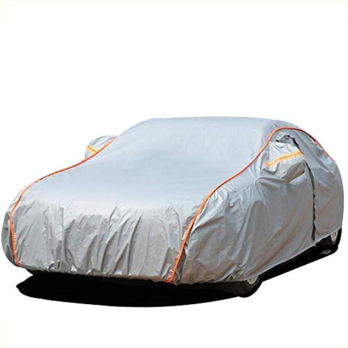 CRRQQ cubierta del coche compatible con la cubierta de nieve de terciopelo cubierta de protección UV de coches lona doble completa serie Bentley todo el día de agua y el viento a prueba de polvo al ai