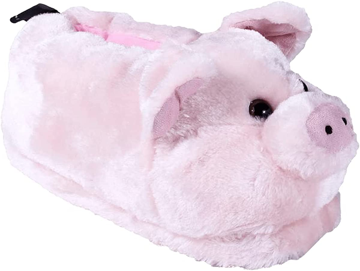 HappyFeet Farm Animal Slippers for Adults and Kids, Cozy and Comfortable, As Seen on Shark Tank