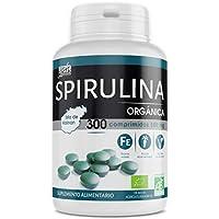 Spirulina orgánica 500mg - 300 comprimidos