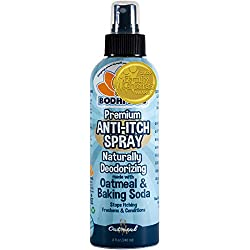 image: NEW Anti Itch Oatmeal Spray for Dogs and Cats | 100% All Natural Hypoallergenic Soothing Relief for Dry, Itchy, Bitten or Allergic Damaged Skin | Vet and Pet Approved Treatment