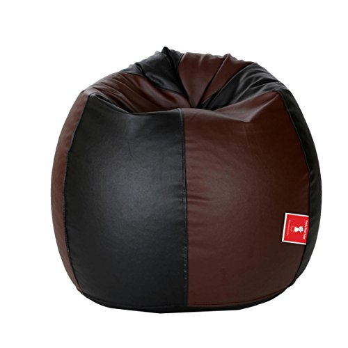 ComfyBean Bags - Bag - Size XXL - with FKillers - Filled with s ( Black & Brown )